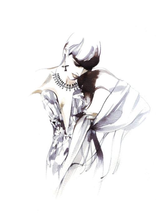 Illustration de beauté avec des bijoux