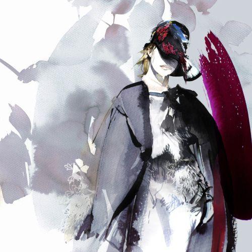 Petra Dufkova Ilustrador internacional de moda y belleza. Munich