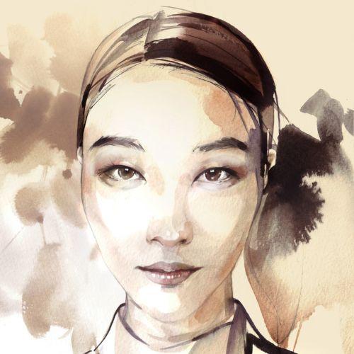 loose  people asian woman
