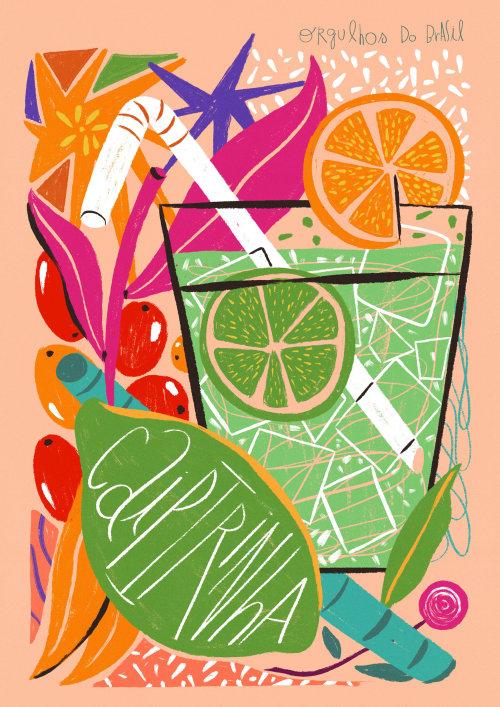Food & Drinks Caiptrinha cocktail