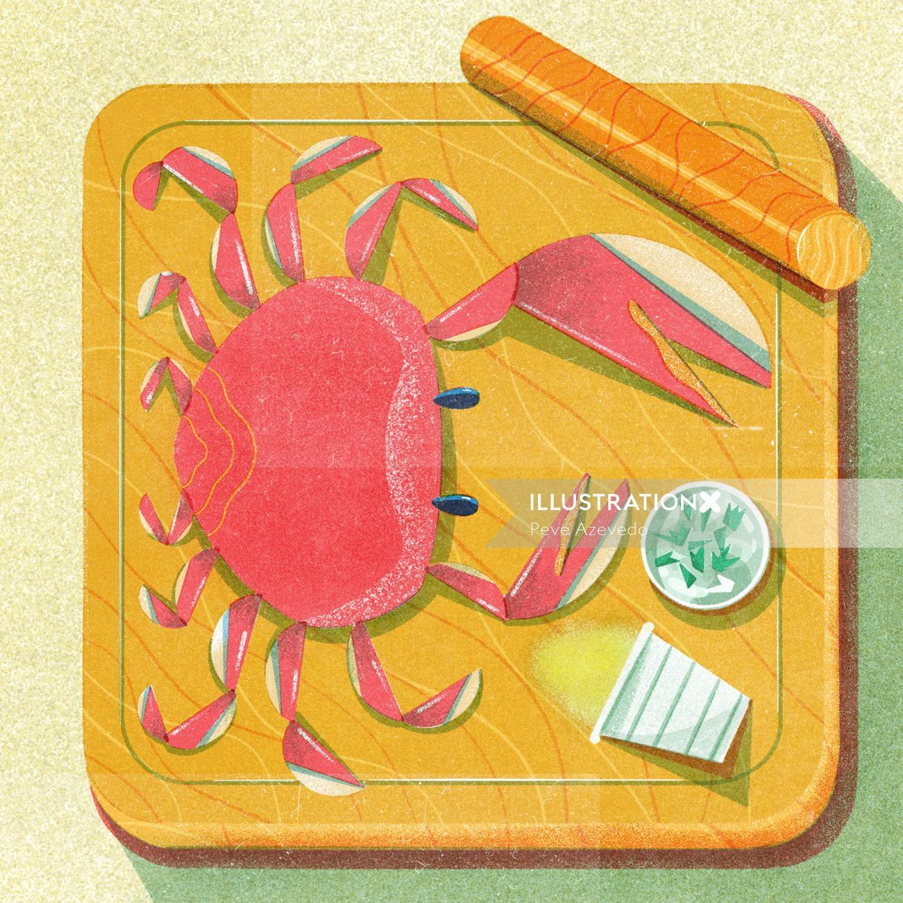 Food & Drinks Crabs Dish