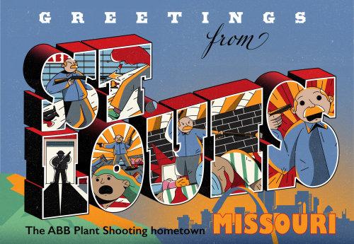 Lettering design St-Louis