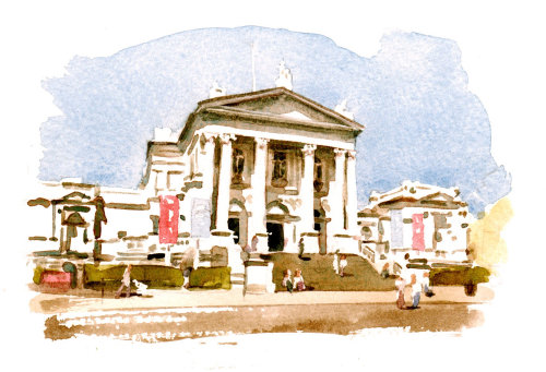 Illustration of Tate Britain