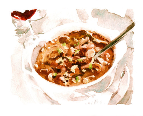 Mountain Goulash illustration by Philip Bannister