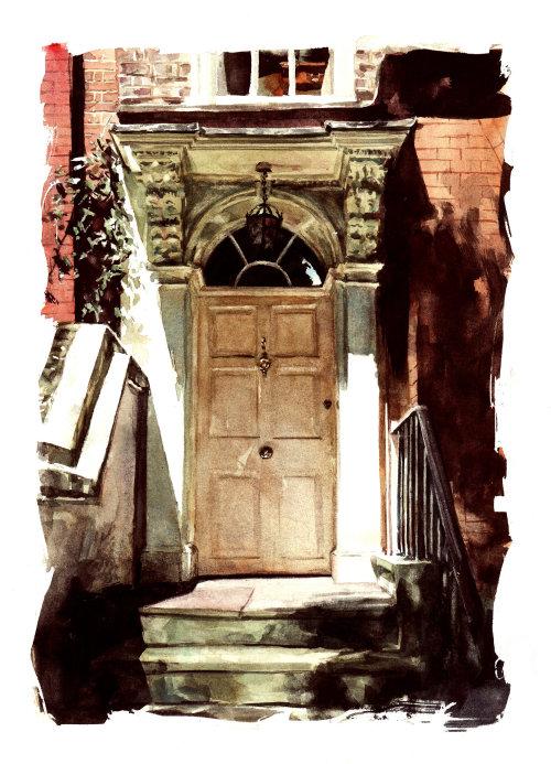 Mid day door