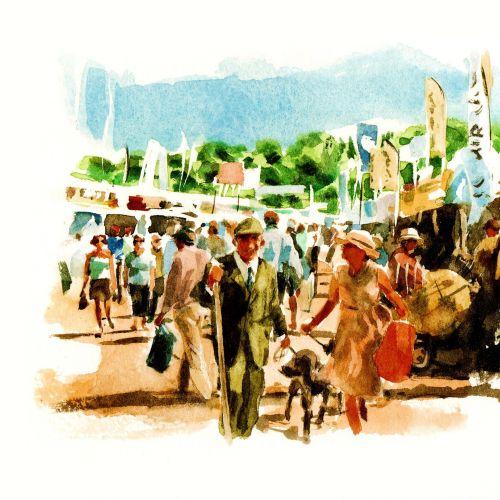 Philip Bannister International watercolour illustrator • Yorkshire