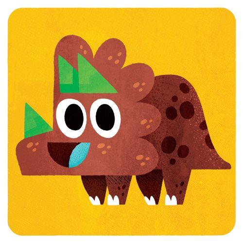 Dinosaur illustration by Pintachan