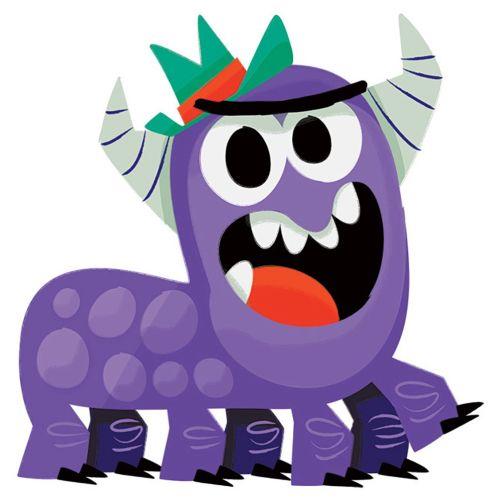 Monster digital art