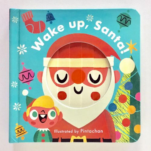 Wake up Santa graphical painting