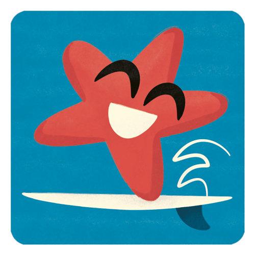 Smiling Starfish illustration