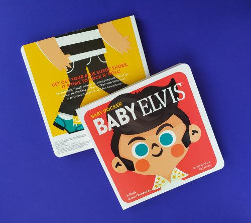 Baby Elvis book cover design