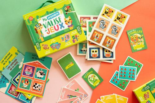 Valise de Jeux, Children's activity book illustration