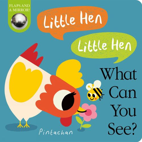 Little Hen, Little Hen, What Can You See? book cover illustration