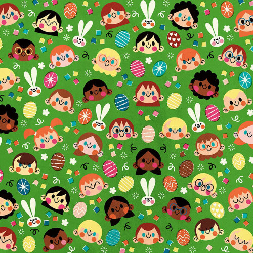 Cute Girl wrapping paper