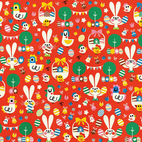 Easter Eggs gift wrapping paper