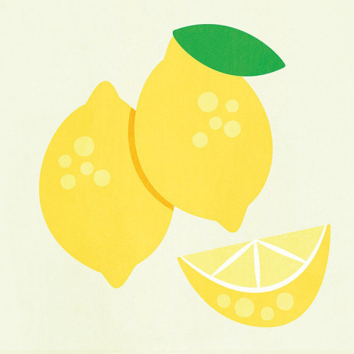 Fresh Lemon fruits illustration