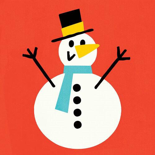 Happy Snowman Digital art