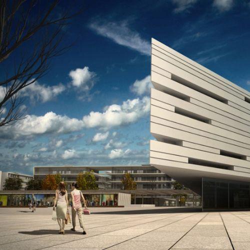 Architectural 3d building
