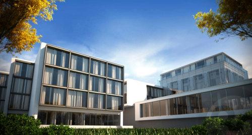 Beautiful buildings in 3d