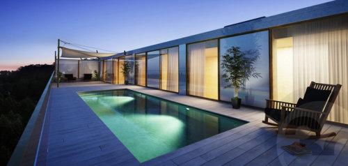 3D architectural building artwork