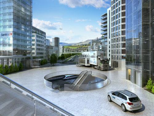 Thyssen city design