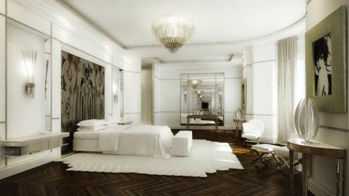 Bedroom architectural design