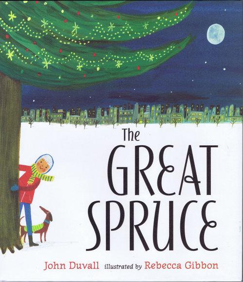 La grande couverture de livre en épicéa par Rebecca Gibbon