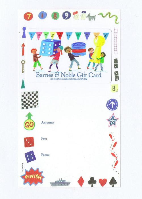 conception de cartes-cadeaux barnes et noble