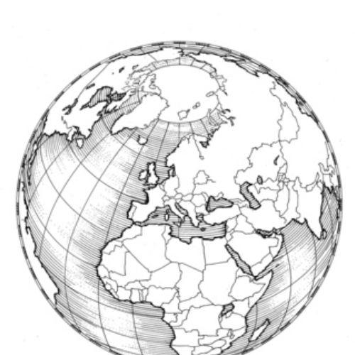Earth Graphic Illustration