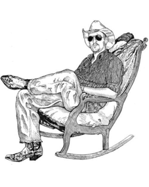 Homme avec des lunettes et un costume