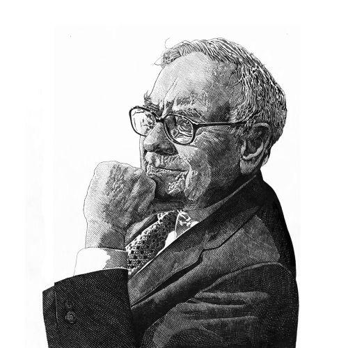 Warren Buffet Portrait