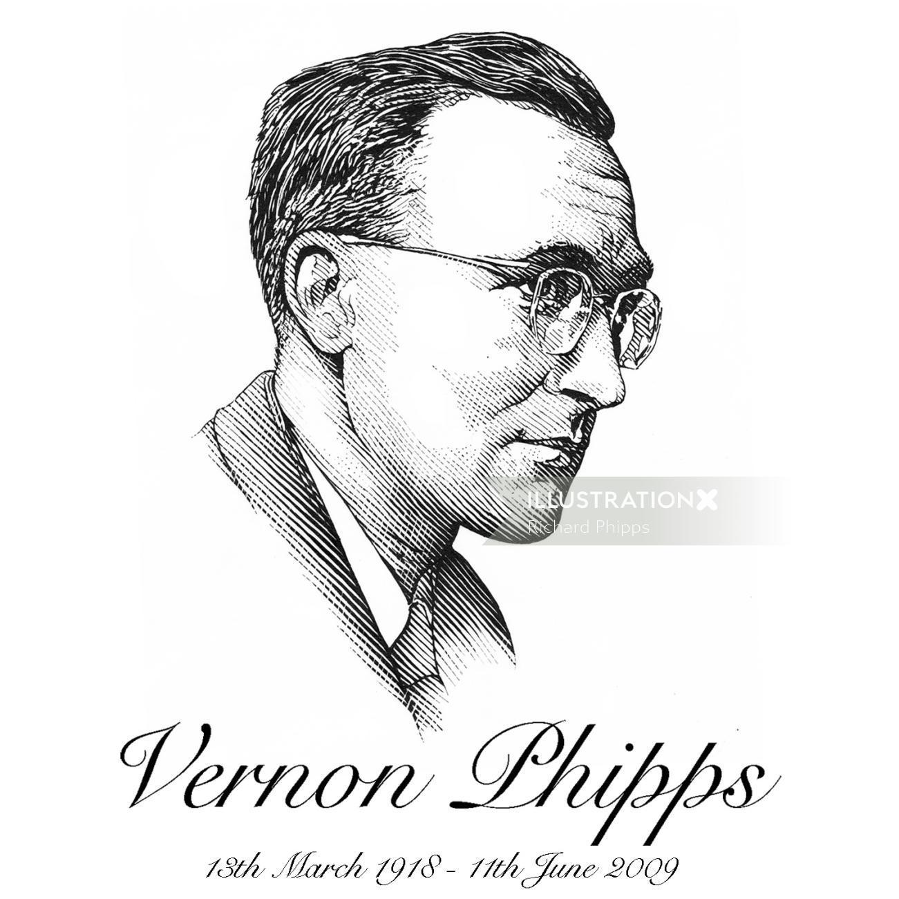 Vernon Phipps People portrait