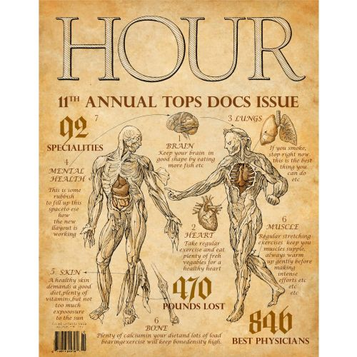 The Hour magazine cover