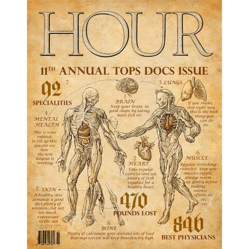 Couverture du magazine The Hour