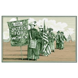 Suffragette postcard illustration by Richard Phipps