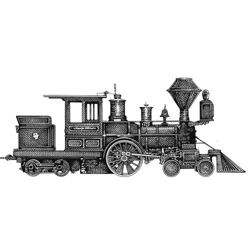 American steam engine