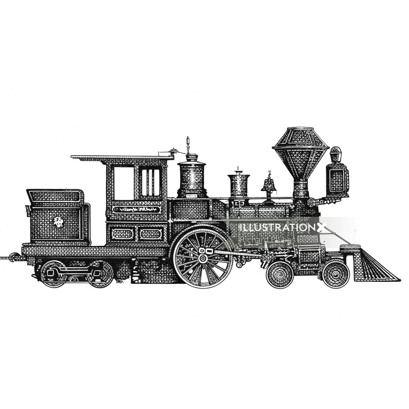 American steam engine