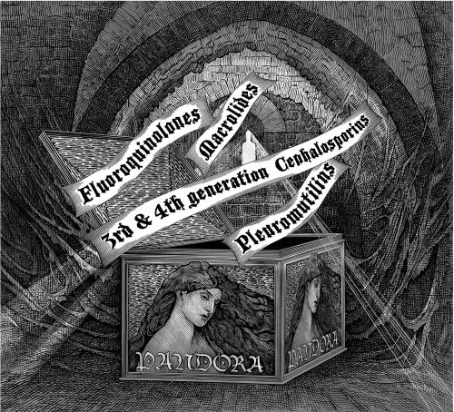 Illustration for Pandoras box for Bayer