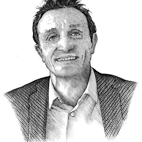 Richard Phipps Ilustrador internacional de gravação de caneta e tinta, Reino Unido