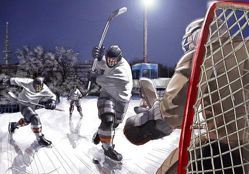 Storyboard ice hockey