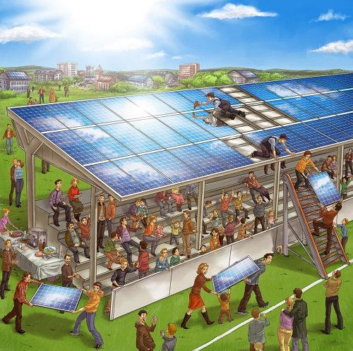 Storyboard solar roof