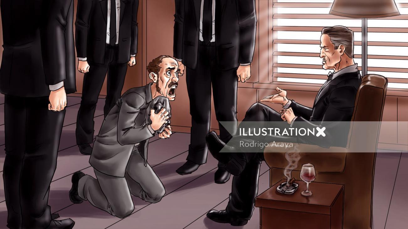Kostenlose 3D-Zeichentrickkarn-Comics