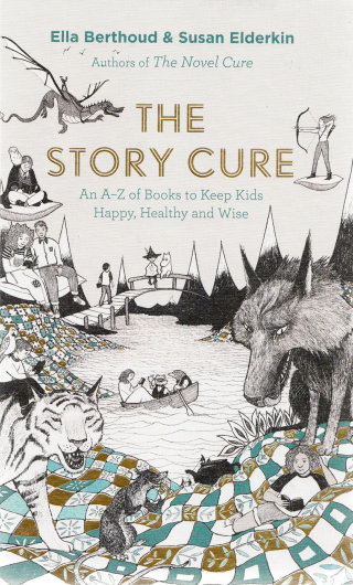 """Fantastic Front Cover Of """"The Story Cure"""""""