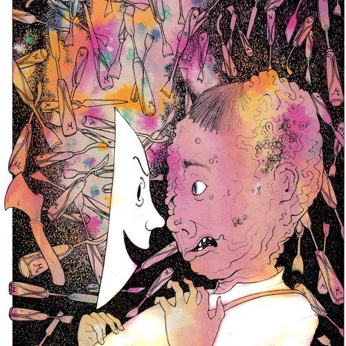 Rohan Eason Atmospheric pen & ink illustrator. London