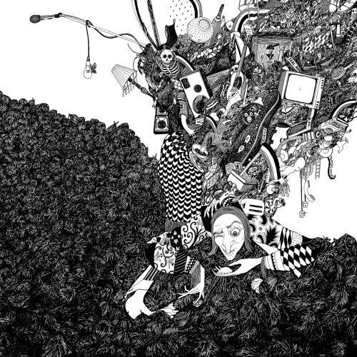 Rohan Eason Ilustrador de caneta e tinta atmosférica. Londres