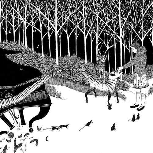 The Piano in the Forest children's book for Blackmaps