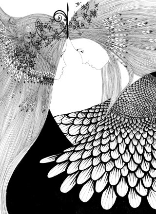 Pen & Ink Drawing By Rohan Eason