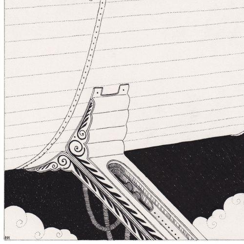 Black and white Fictional book Tancredi