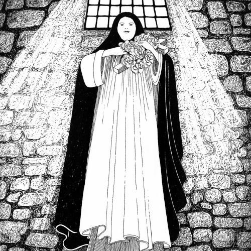The Mistletoe Bride Illustration For Kate Mosse