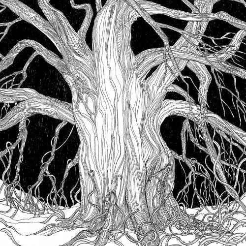 The Mistletoe Bride black and white art